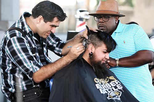 Barber Battle : The CW Pulls